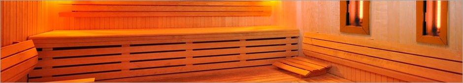 Sauna met infraroodcabine
