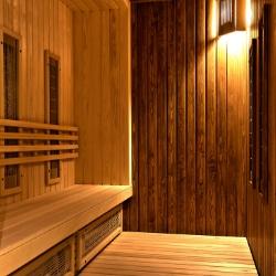 een op maat gemaakte sauna